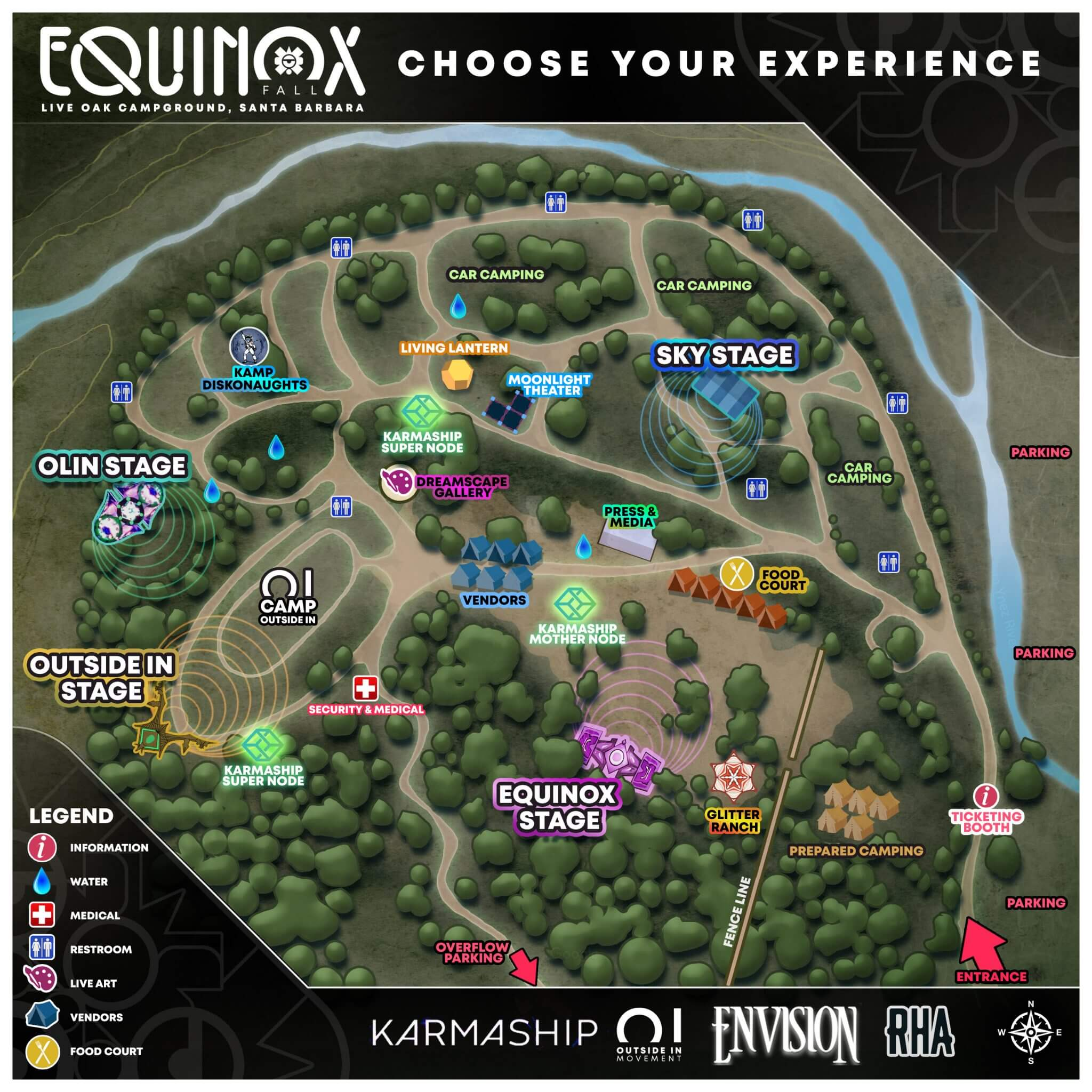 Outside In Equinox Map