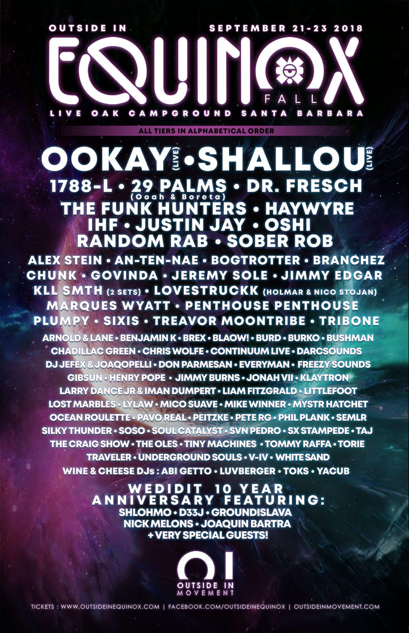 OI Equinox Fall 2018 Official Poster